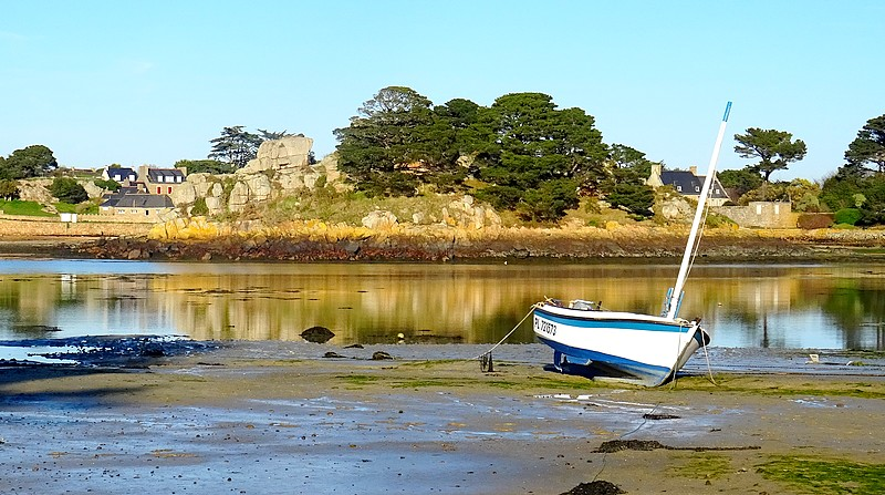 France – Brittany : One day on Brehat island – 30 photos.