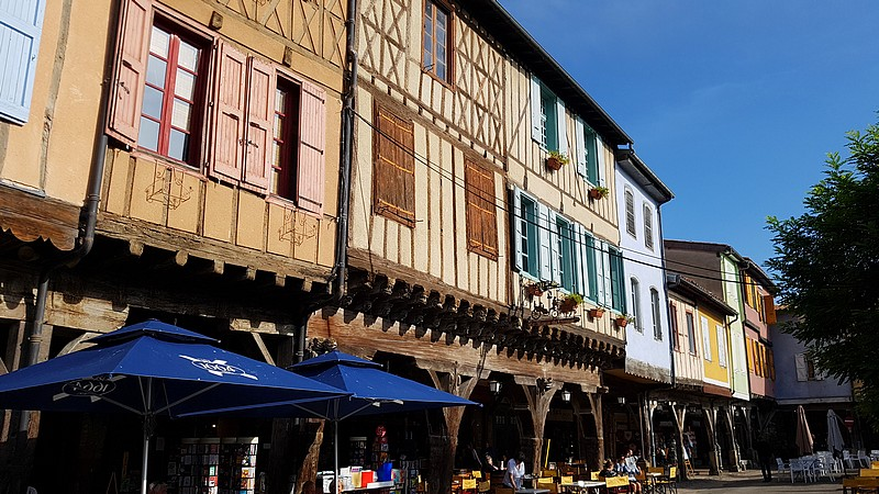 France – Walking the Pyrenean Foothill Route – Mirepoix – 25 photos.