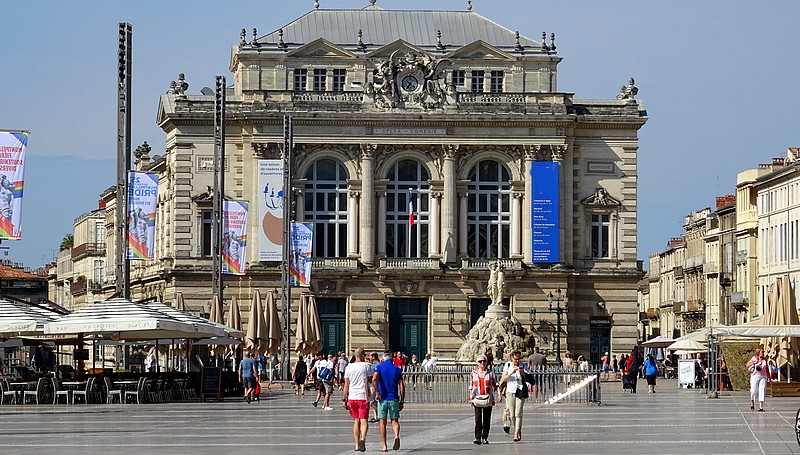 France : Walking on the Arles Way – Montpellier – 30 photos